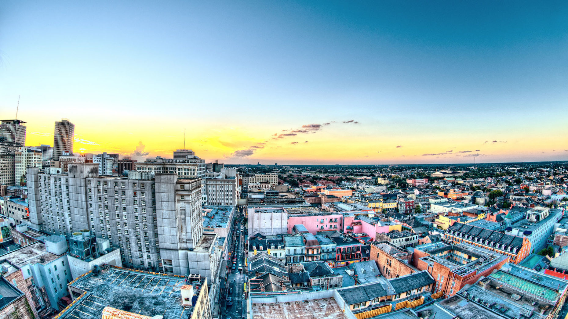 Download Colorful New Orleans Wallpaper 1920x1080